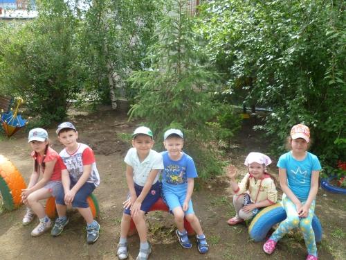 Экологическая тропа на территории детского сада