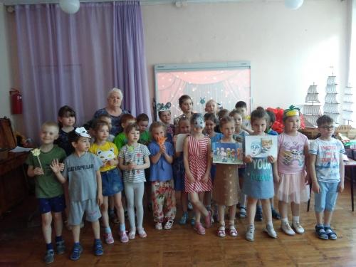 Детская библиотека им. А.П. Гайдара у нас в гостях