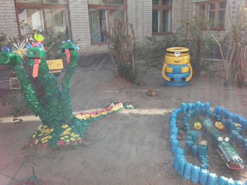 Летнее оформление участков детского сада - 2019