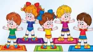 Утренняя гимнастика для детей совместно с родителями