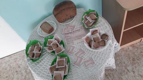 """Акция памяти"""" Блокадный хлеб"""""""