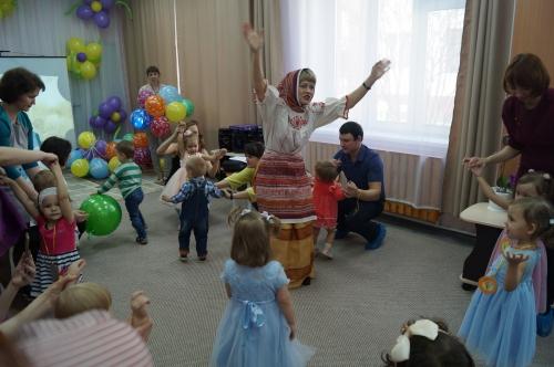 Открытие пристройки к детскому саду