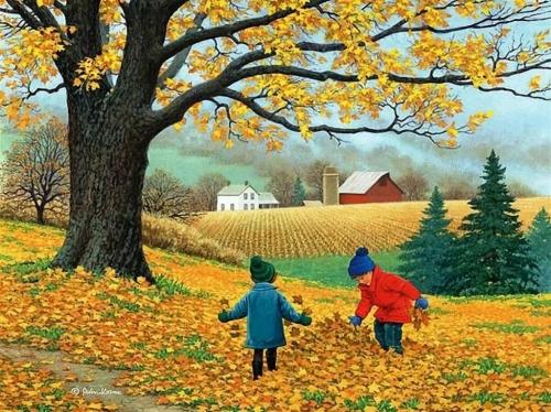 """10 и 11 октября в нашем детском саду проходили осенние развлечения """"Осенины""""."""