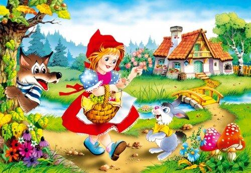 """Сотрудники детского сада подарили воспитанникам интереснейшую сказку """"Красная Шапочка""""."""