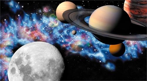 """Тематическая неделя """"Космос, открытый каждому"""", посвященная 55-летию полета человека в космос"""