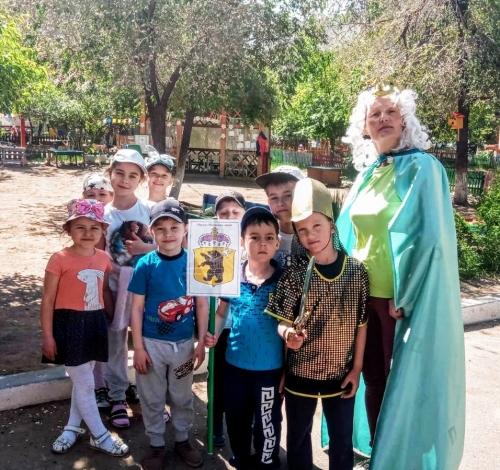 Рыцарский турнир в детском саду