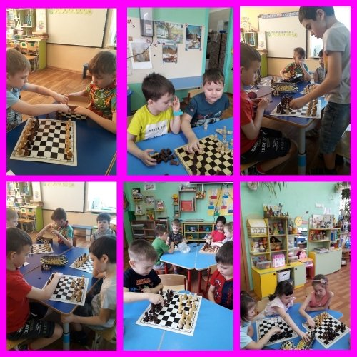 """Шахматная среда """"В мире шахматных фигур"""""""