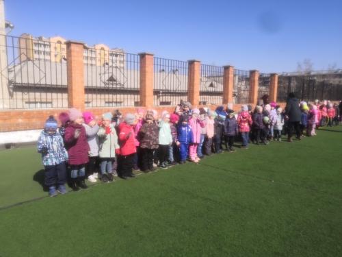 В детском саду прошли мероприятия, посвященные Дню здоровья
