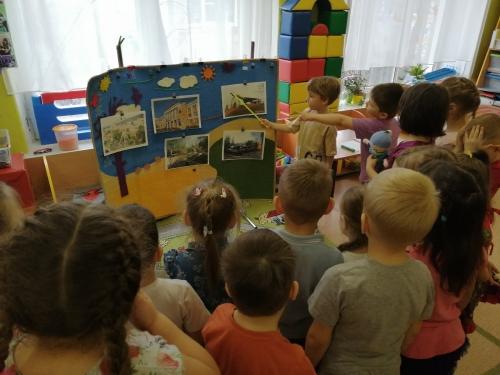 В детском саду начались мероприятия, посвященные 170-летнему  юбилею родного города!