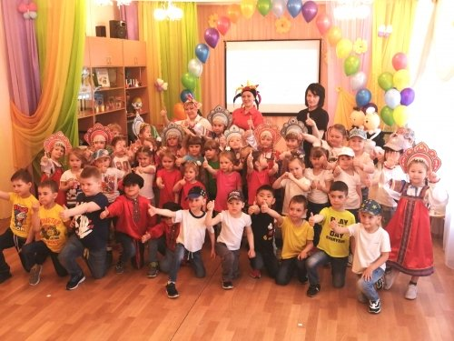 Отчетный онлайн концерт прошел в детском саду для родителей воспитанников, посещающих кружки дополнительного образования!