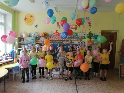 Первый праздник лета, посвященный Дню защиты детей прошел в детском саду!