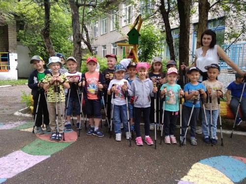 Летний терренкур в детском саду!