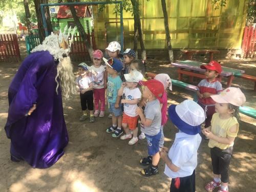 День Нептуна в детском саду!