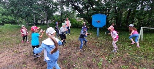 День подвижных игр в детском саду!