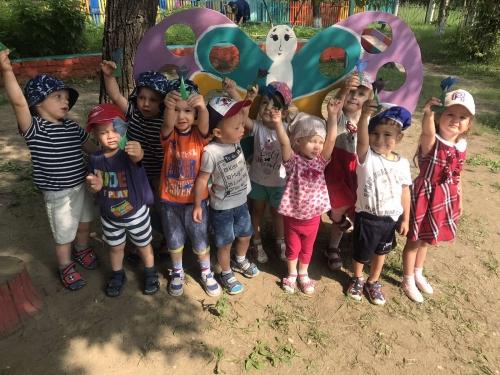 """О растениях, которые растут в нашем саду узнавали дети группы № 7 """" Почемучки""""!"""
