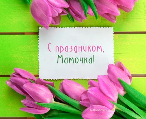 С ПРАЗДНИКОМ ЛЮБИМЫЕ МАМЫ!