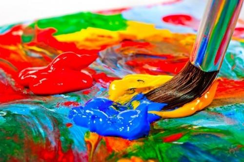 НОД (ХЭР) по рисованию на тему:  «Удивительный мир красок»