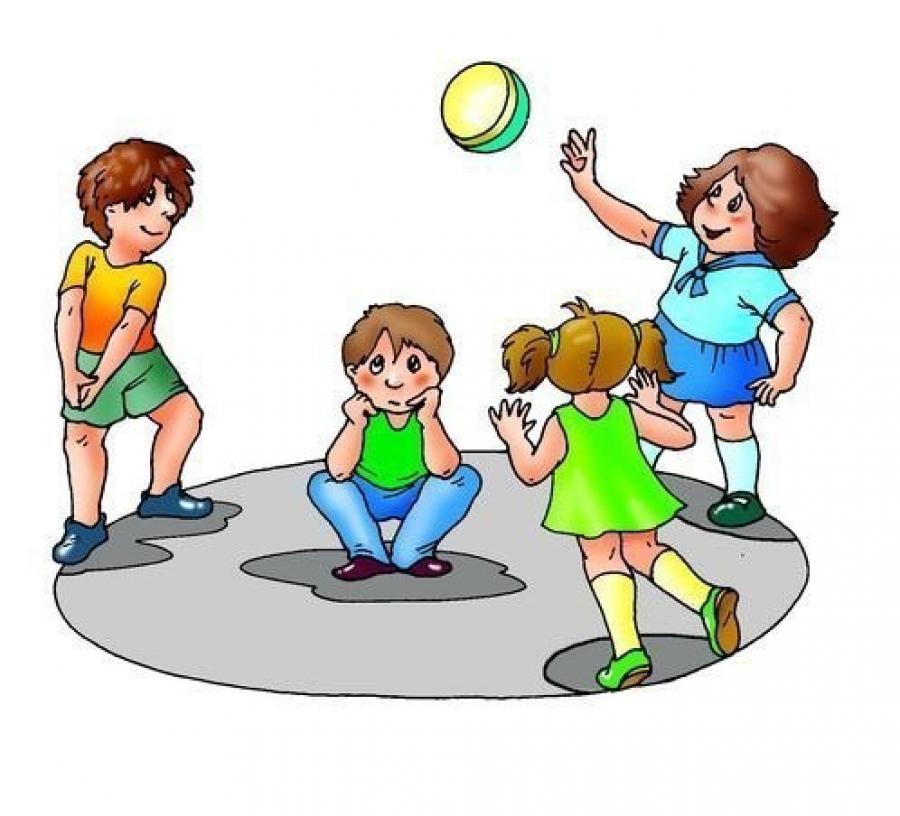 Подвижные игры картинки для детей нарисованные
