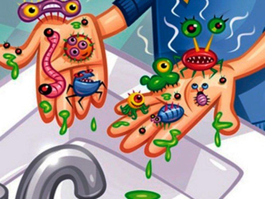 Микробы вирусы картинки для детей